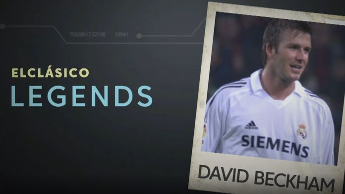 Legendy El Clasico: David Beckham
