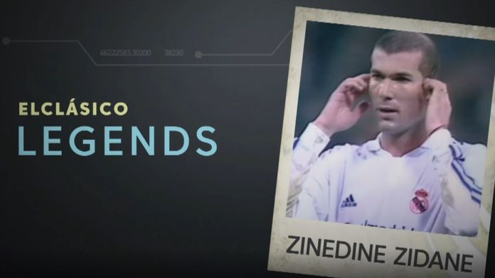 Legendy El Clasico: Zinedine Zidane
