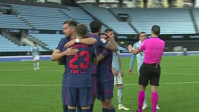Skrót meczu Celta - Atletico