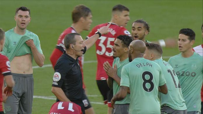Skrót meczu Southampton - Everton