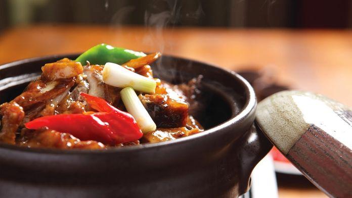 Kuchnia chińska z Konfucjuszem