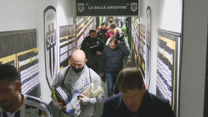 Skrót meczu Angers - Lyon
