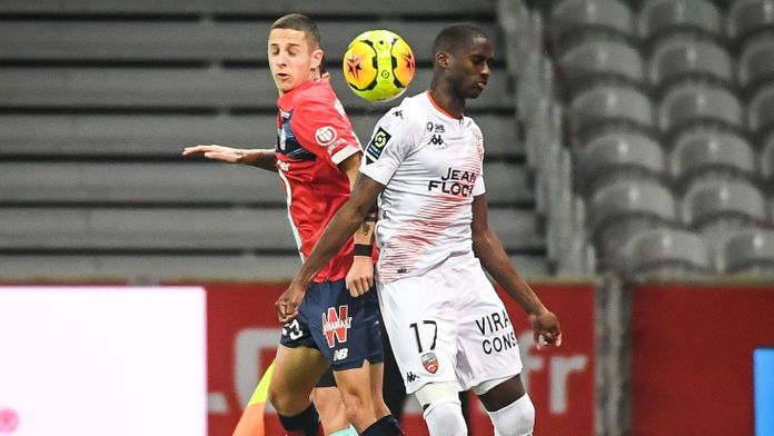 Skrót meczu Lille - Lorient