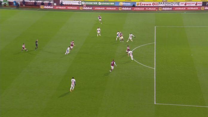 Skrót meczu Burnley - Crystal Palace