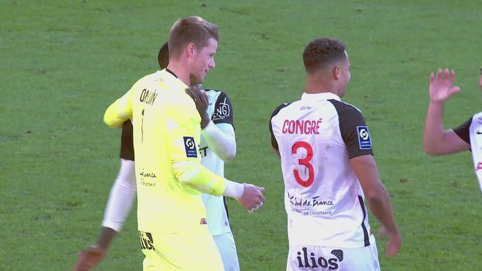 Skrót meczu Lorient - Montpellier