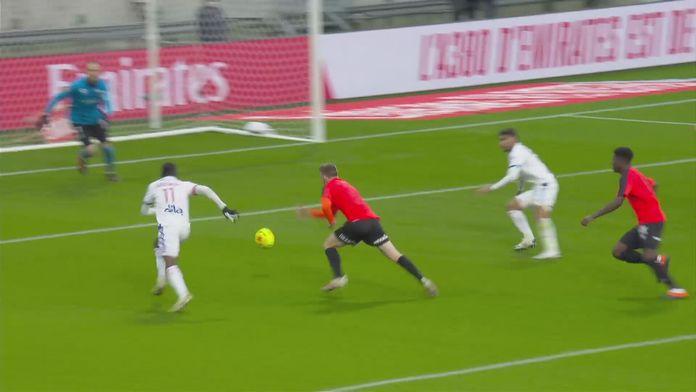 Skrót meczu Olympique Lyon - Stade Reims