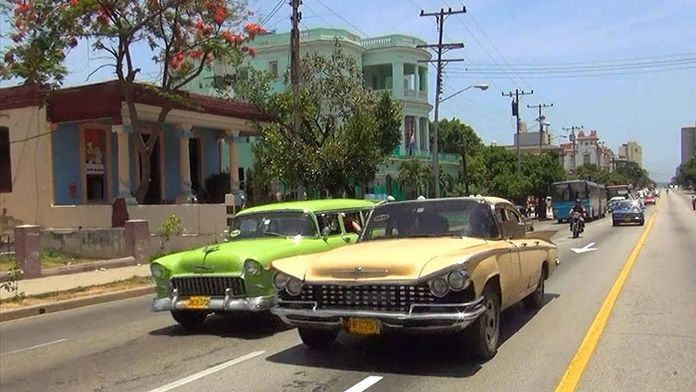 Quatre roues à Cuba