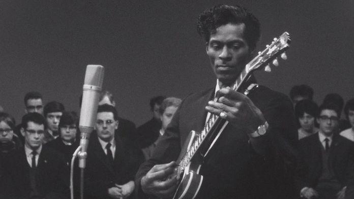 Face au public : Chuck Berry