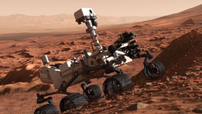 Curiosity: Un robot sur Mars