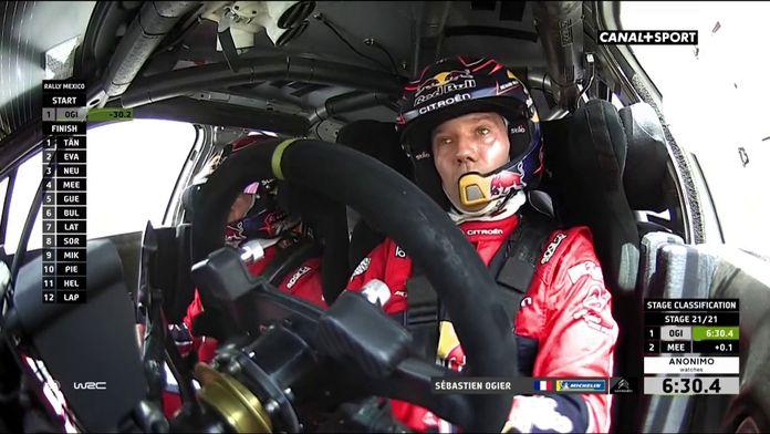Sébastien Ogier remporte la victoire !