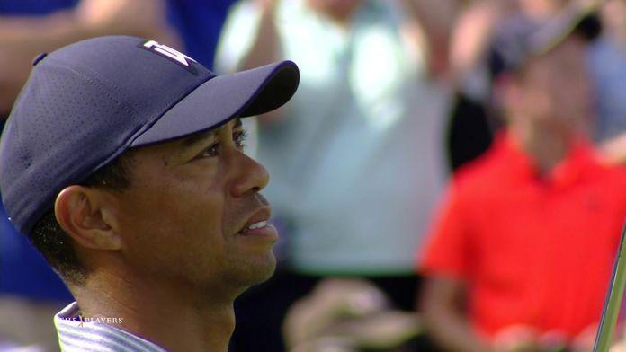 Tiger Woods prend l'eau !