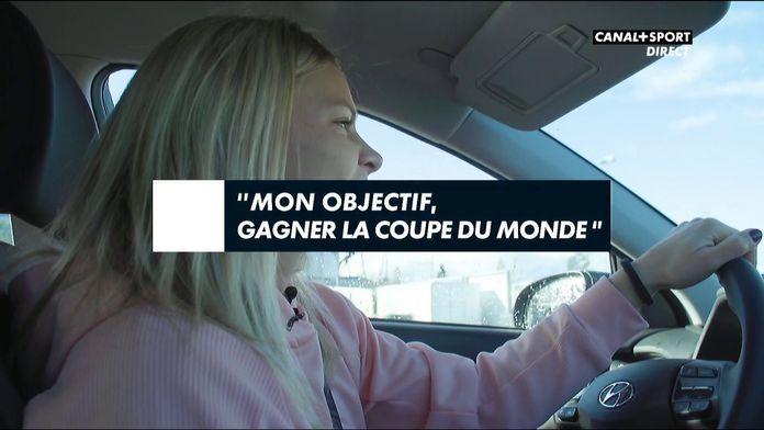 Eugénie Le Sommer se confie à CANAL+