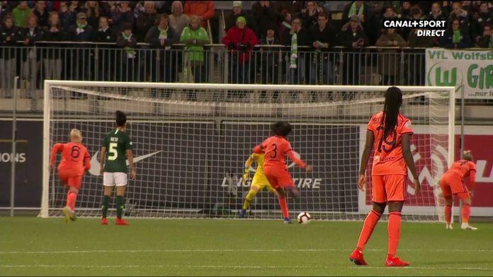 Renard fait le break sur penalty pour l'OL !
