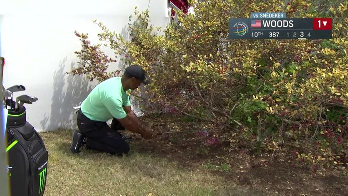Le magicien Tiger Woods