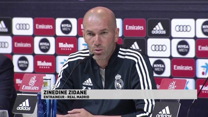 Zinédine Zidane évoque Paul Pogba