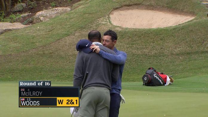 Woods domine McIlroy