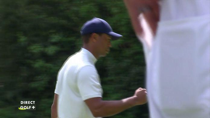 Sublime birdie putt de Tiger Woods sur le 6 !
