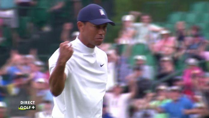 Putting exceptionnel de Tiger Woods !