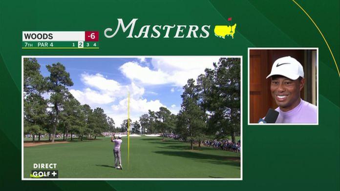 La réaction de Tiger Woods après sa 3ème journée !