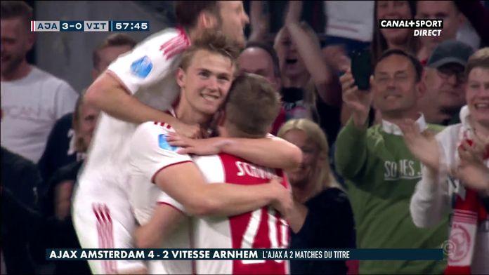 Le résumé d'Ajax Amsterdam / Vitesse Arnhem