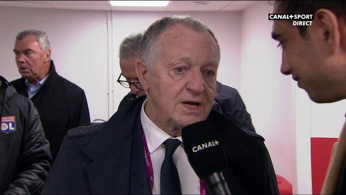 La réaction de Jean-Michel Aulas après Dijon / Lyon