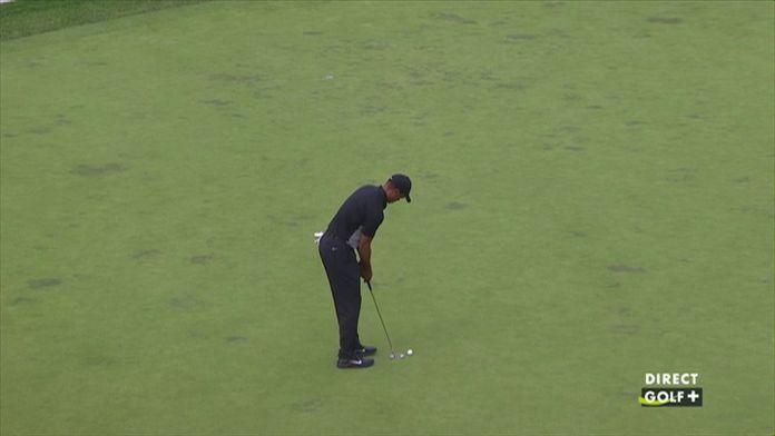 Le superbe putt de Tiger Woods !