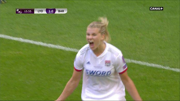 Ada Hegerberg double la mise pour l'OL