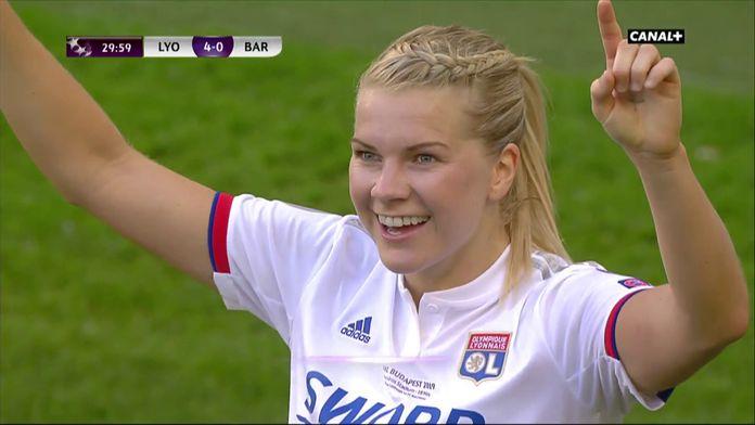 Et de 3 pour Hegerberg, Lyon s'amuse !