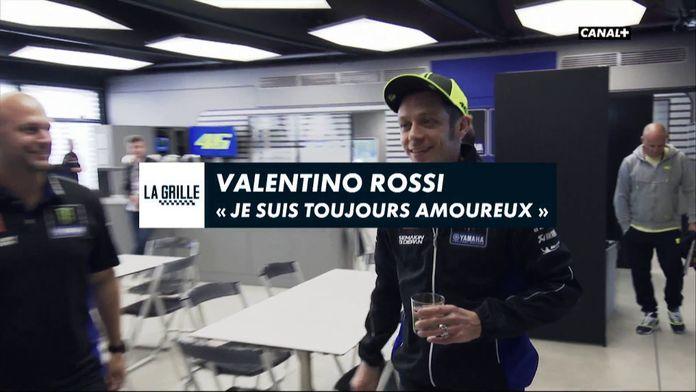 Valentino Rossi en interview !