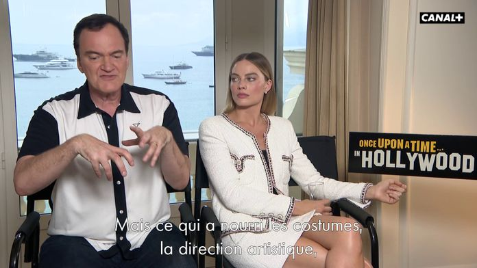 Souvenirs de tournage de Once upon a time in Hollywood