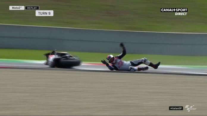 Moto2 - Plus de peur que de mal pour Sam Lowes lors des essais libres 3