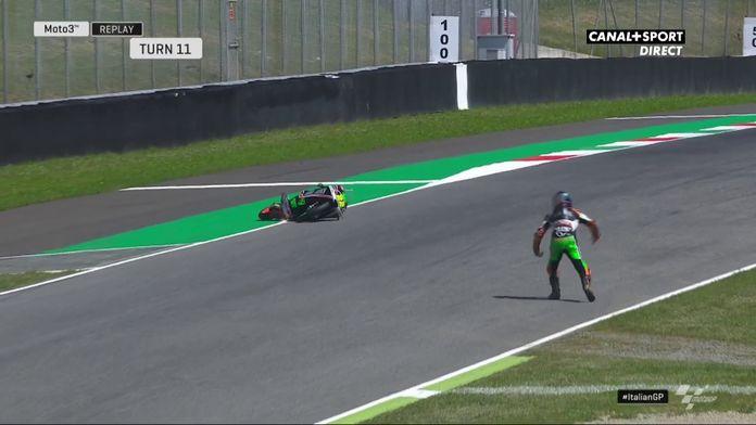 Moto3 - Kazuki Masaki évite le pire !
