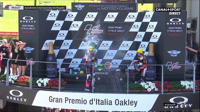 Moto3 - Le podium