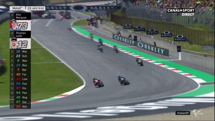 Moto2 - Álex Márquez prend la tête de la course !