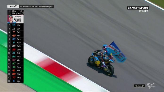 Moto2 - Álex Márquez remporte la course !