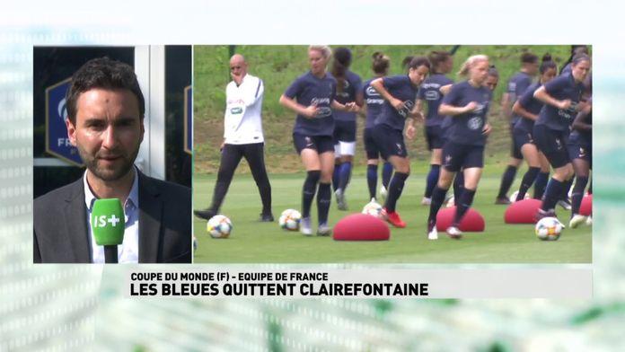 Les Bleues quittent Clairefontaine