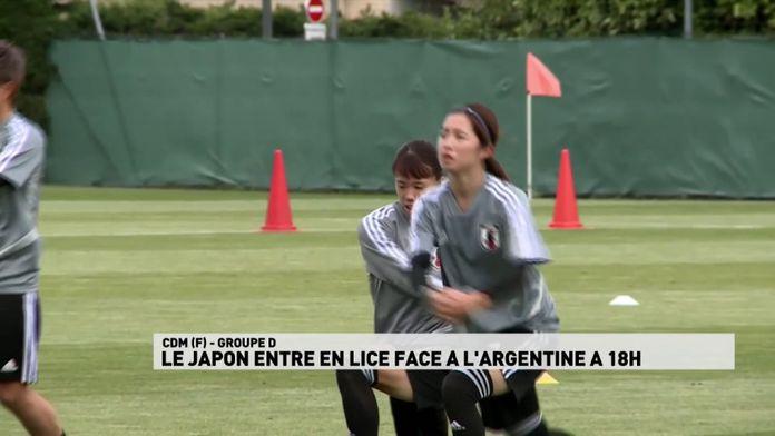 Le Japon entre en lice face à l'Argentine