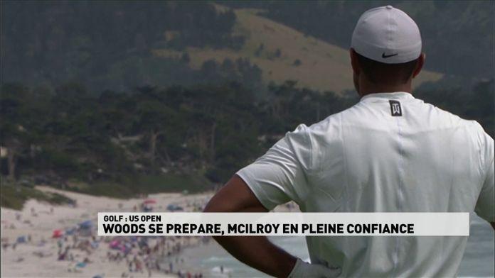 Woods se prépare, McIlroy en pleine confiance