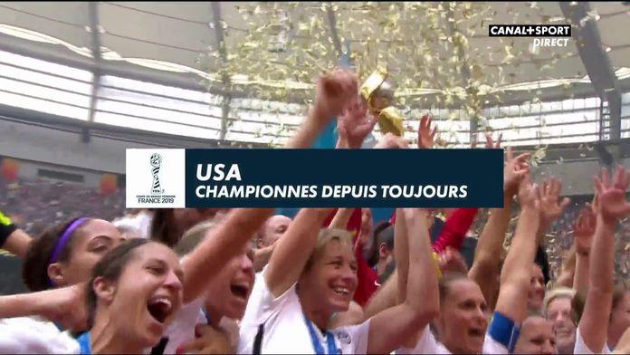 USA : Championnes depuis toujours