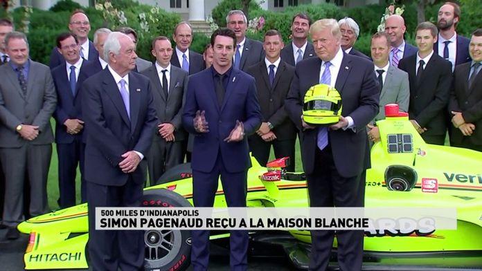 Simon Pagenaud reçu à la Maison Blanche