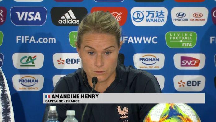 """Amandine Henry : """"il faut être à 200%"""""""