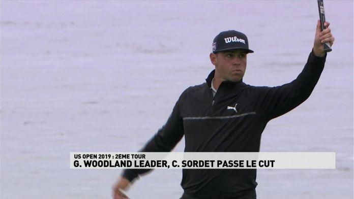 Woodland leader, Sordet passe le cut.