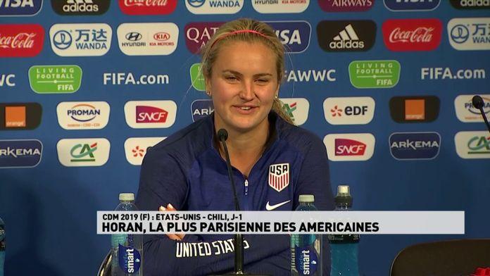 Horan, la plus parisienne des Américaines