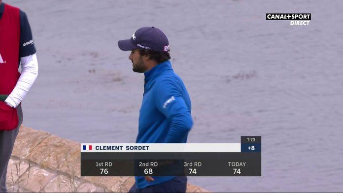 Dernier trou et dernier putt pour Clément Sordet