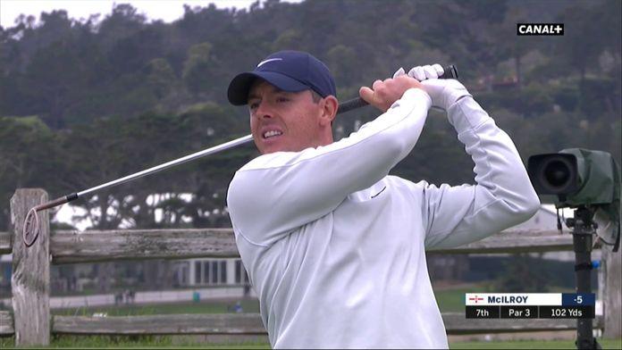 Rory frôle le trou en un ...
