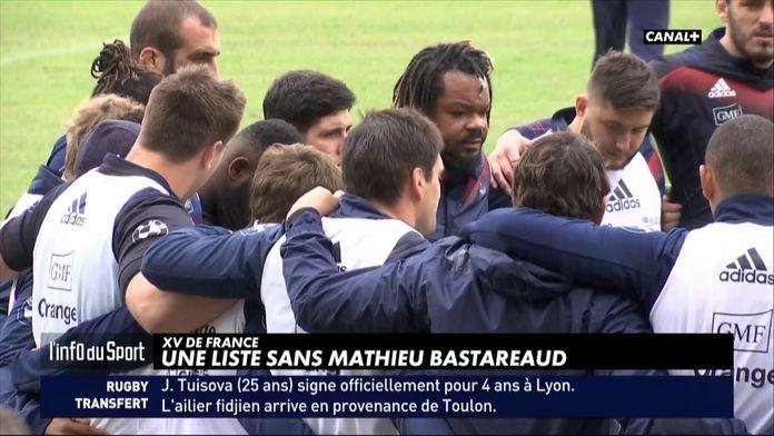 L'info Du Sport : XV de France - Une liste sans Mathieu Bastareaud