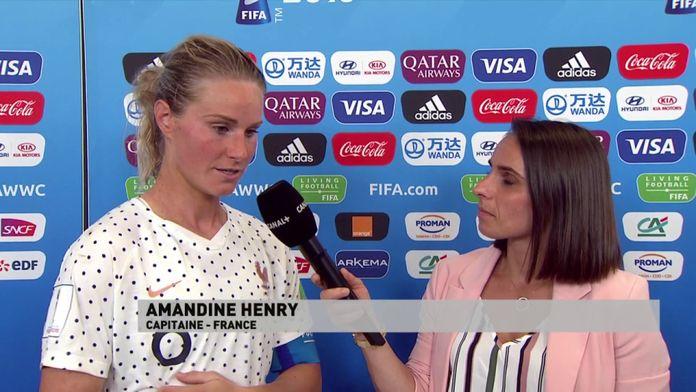 """Amandine Henry : """"C'est de la joie, c'est ouf !"""""""