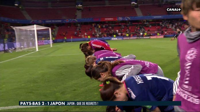 La belle image des Japonaises saluant leurs supporters
