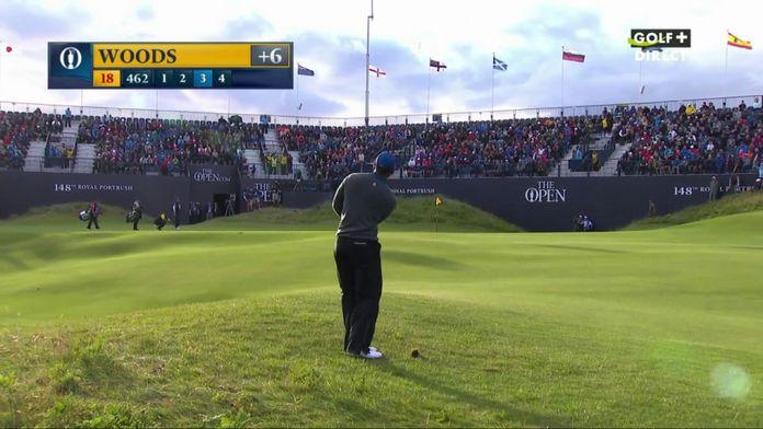Journée très compliquée pour Tiger Woods