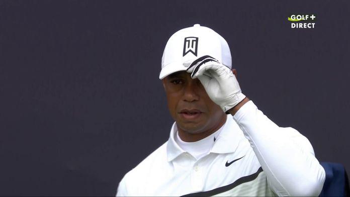 Tiger Woods commence sa journée